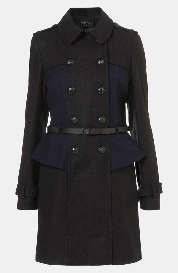 Main Image - Topshop Utilitarian Coat