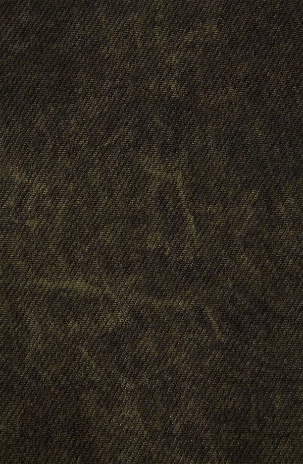 Alternate Image 3  - Topshop Acid Wash Denim Leggings