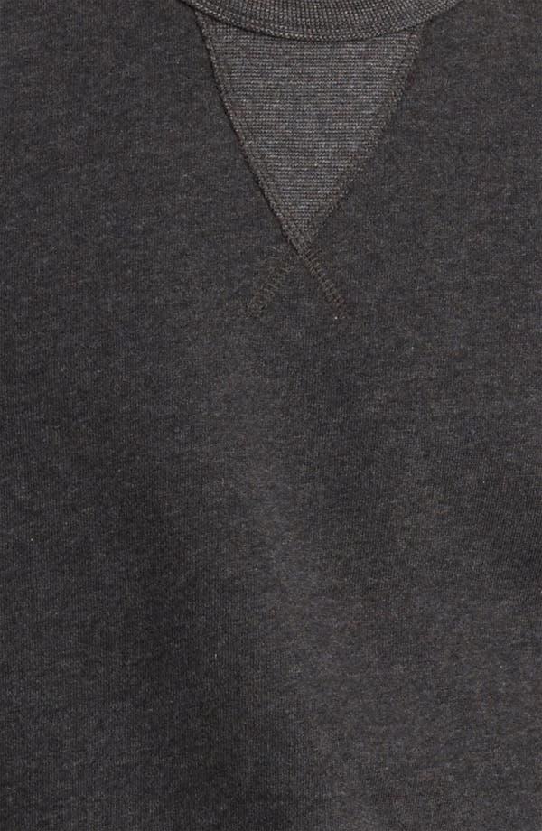 Alternate Image 3  - Grayers Crewneck Fleece Sweatshirt