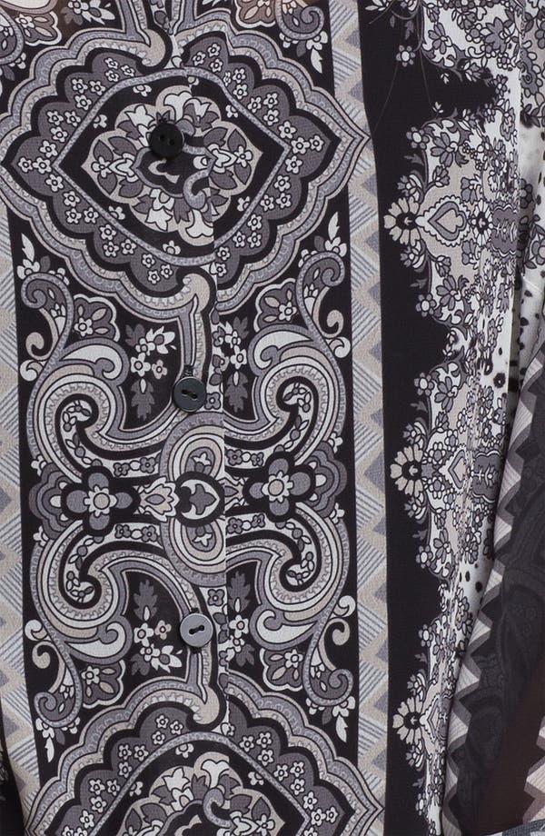 Alternate Image 3  - August Silk Print Chiffon Blouse