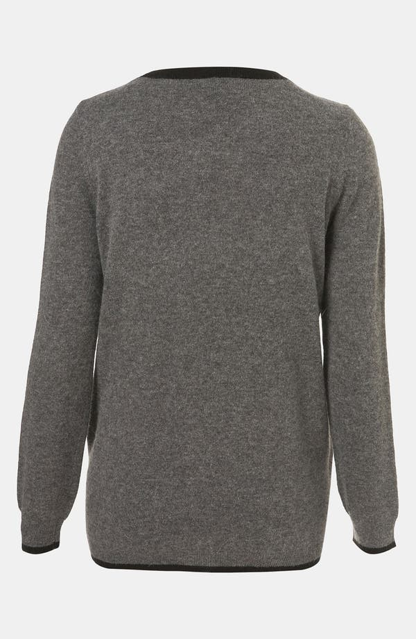 Alternate Image 2  - Topshop 'Alphabet' Sweater