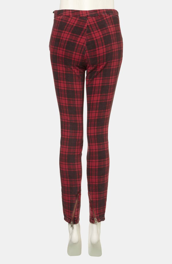 Alternate Image 2  - Topshop 'Naomi' Plaid Skinny Pants