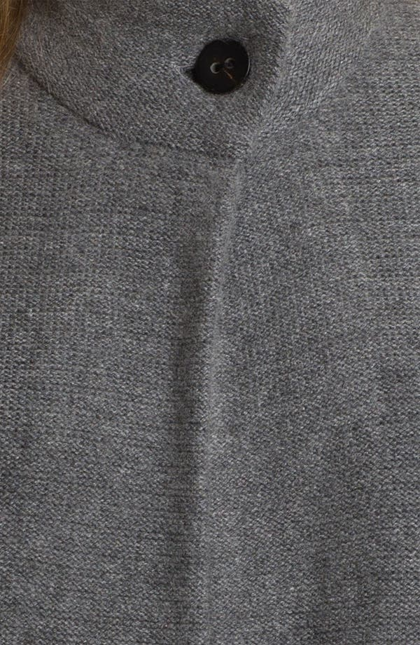 Alternate Image 3  - Nordstrom Collection One Button Cashmere Cardigan