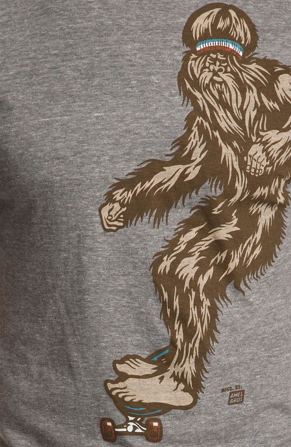 Alternate Image 3  - Ames Bros 'Bjorn to Skate' Trim Fit Crewneck T-Shirt (Men)