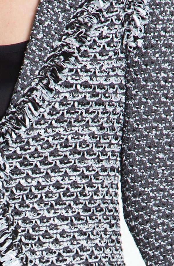 Alternate Image 5  - St. John Collection Fringe Trim Tweed Jacket