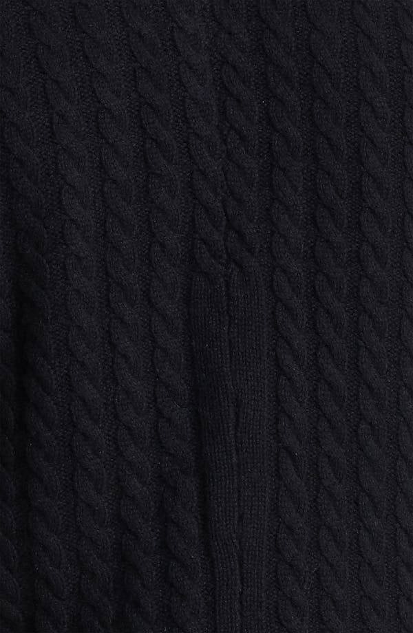 Alternate Image 3  - John Varvatos Collection Double Layer Cashmere Sweater