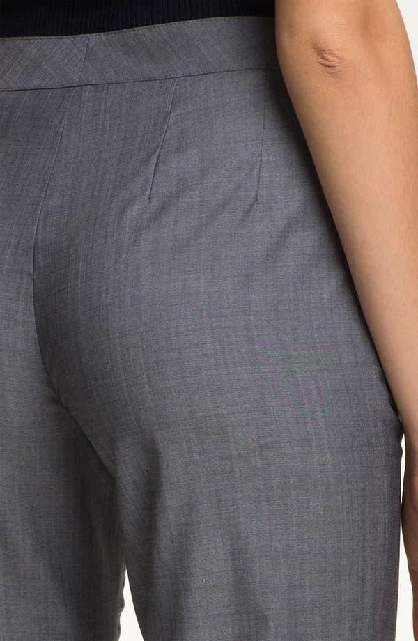 Alternate Image 5  - St. John Collection 'Diana' Straight Leg Mélange Wool Pants