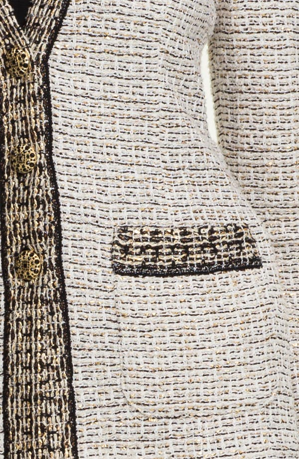 Alternate Image 5  - St. John Collection Venezia Tweed Knit Jacket