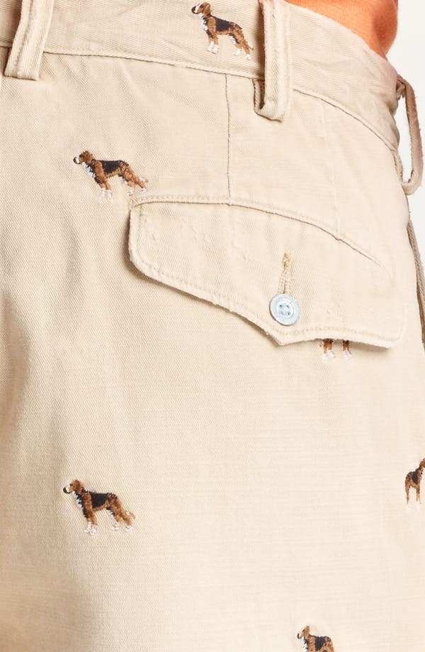 Alternate Image 3  - Polo Ralph Lauren 'Maritime Beagle' Chino Shorts