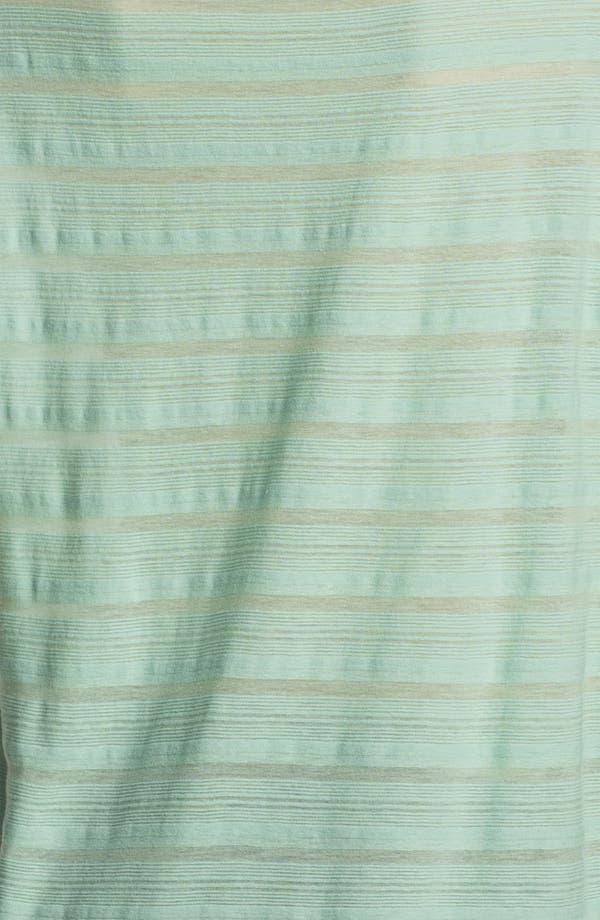 Alternate Image 3  - James Perse Sheer Stripe Muscle Tee