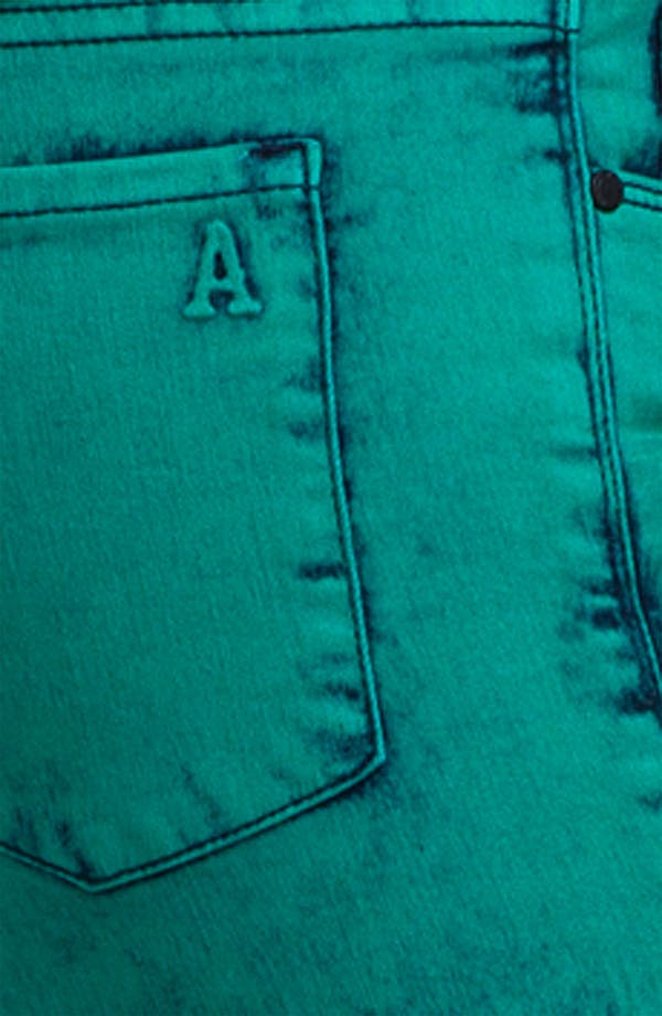 Alternate Image 3  - Articles of Society Acid Wash Skinny Jeans (Juniors)