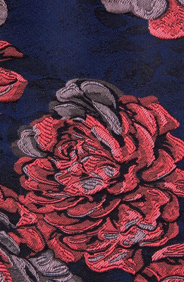 Alternate Image 3  - Topshop 'Champion' Floral Jacquard Dress