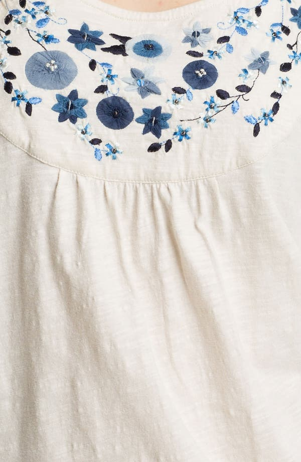 Alternate Image 3  - Lucky Brand 'Grace' Embellished Top
