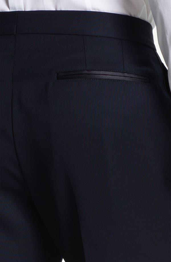 Alternate Image 3  - Burberry Prorsum Wool Tuxedo Pants