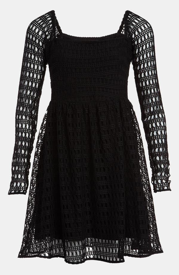 Main Image - Viva Vena! 'Geometric Lace' Dress