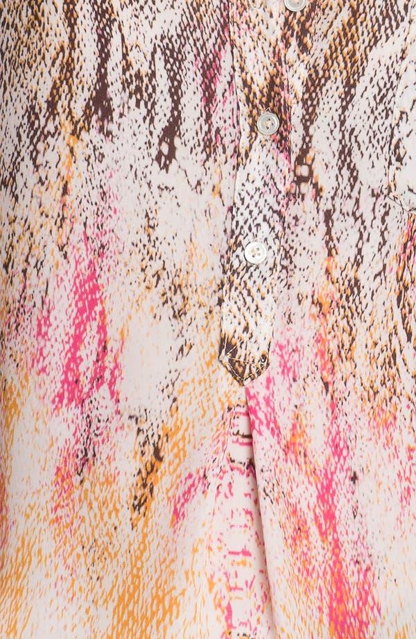 Alternate Image 3  - Haute Hippie Snake Print Silk Blouse