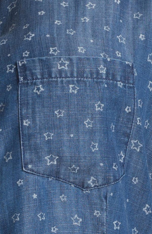 Alternate Image 3  - Shirt 469 Print Cotton Shirt (Plus Size)