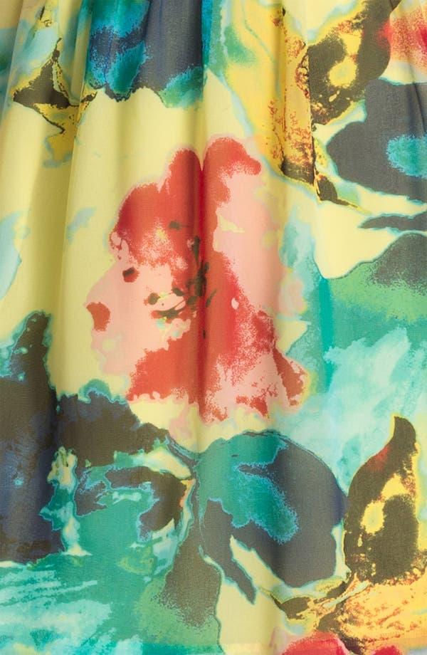 Alternate Image 3  - Kensie 'Blurred Floral' Dress