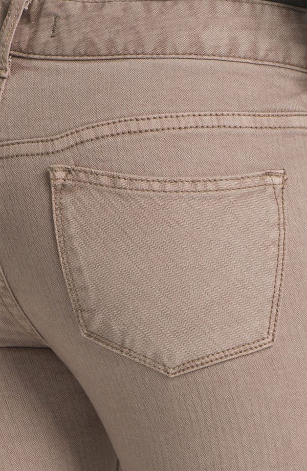 Alternate Image 3  - Free People Crop Stretch Denim Skinny Jeans (Liza)