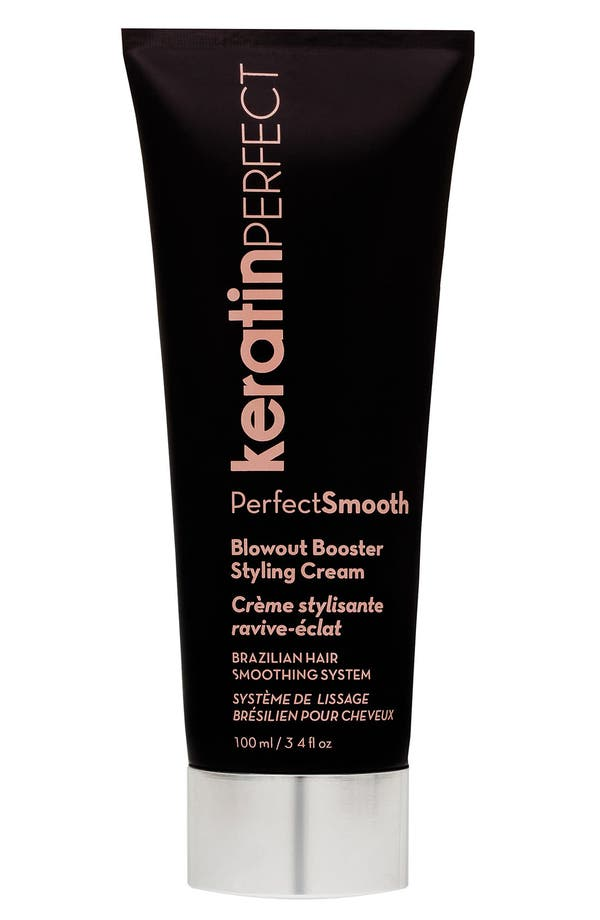 Alternate Image 1 Selected - KeratinPerfect 'PerfectSmooth' Blowout Booster Styling Cream