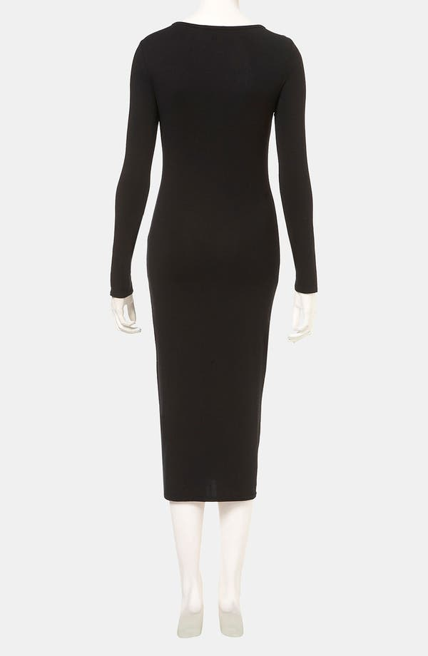Alternate Image 2  - Topshop Body-Con Midi Dress