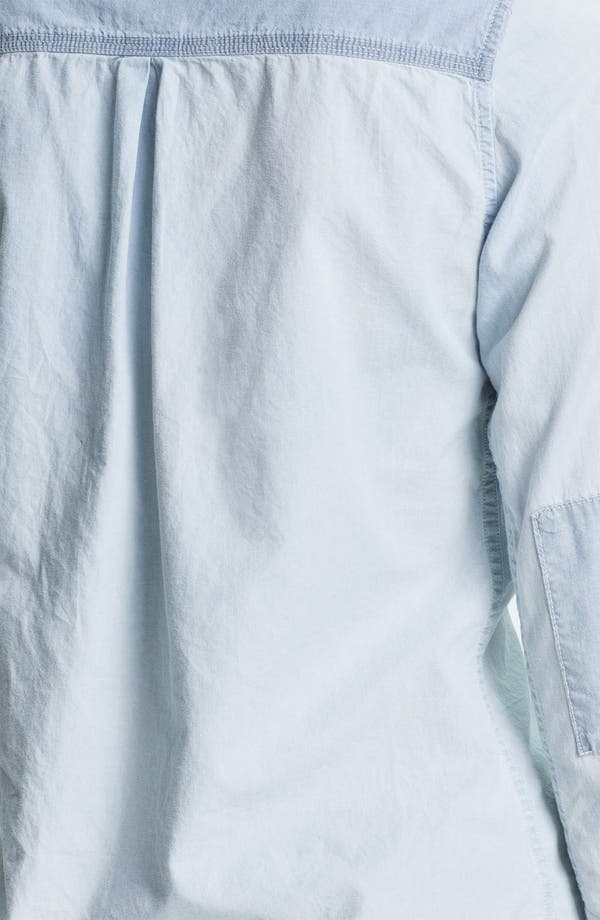 Alternate Image 3  - Maison Scotch Two Tone Chambray Shirt