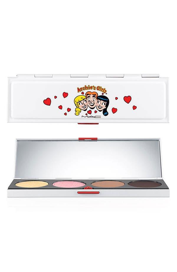 Alternate Image 1 Selected - M·A·C 'Archie's Girls - Caramel Sundae' Eyeshadow Palette