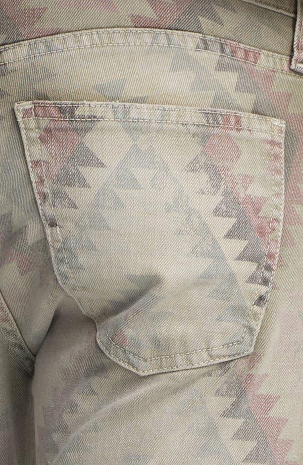 Alternate Image 6  - Current/Elliott 'The Stiletto' Print Stretch Jeans