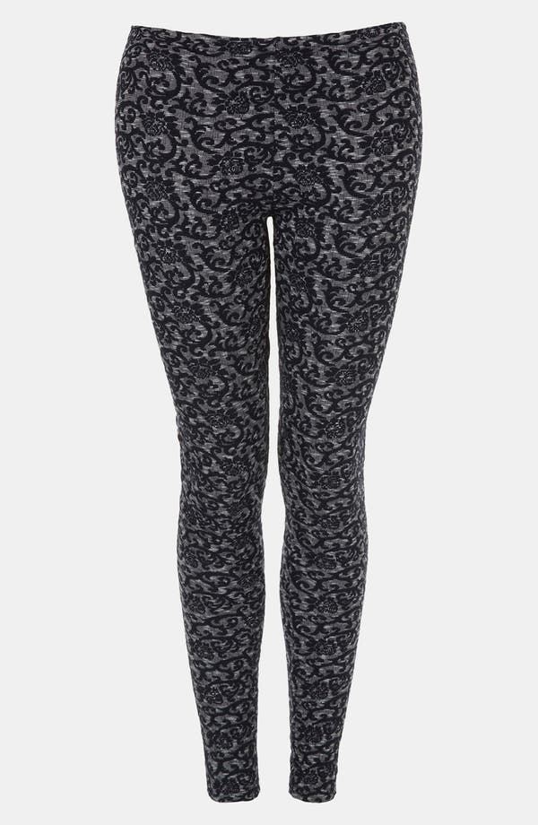 Alternate Image 1 Selected - Topshop Lace Leggings