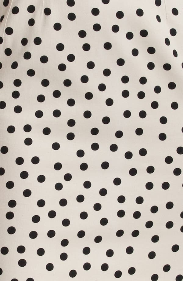 Alternate Image 3  - Dolce&Gabbana Polka Dot Stretch Cotton Dress