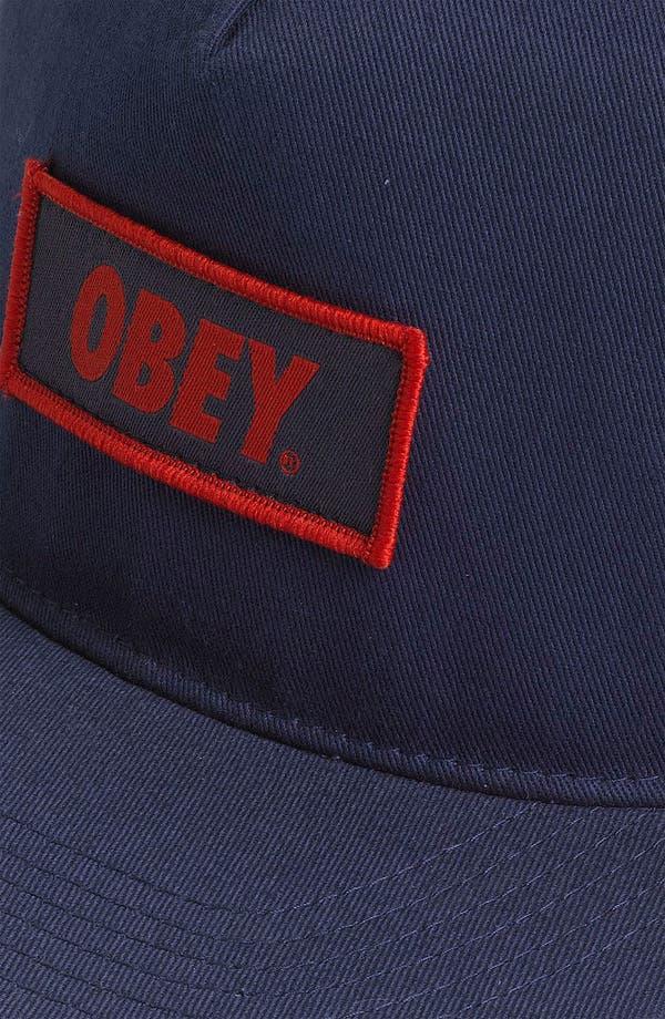 Alternate Image 2  - Obey 'New Original' Snapback Hat
