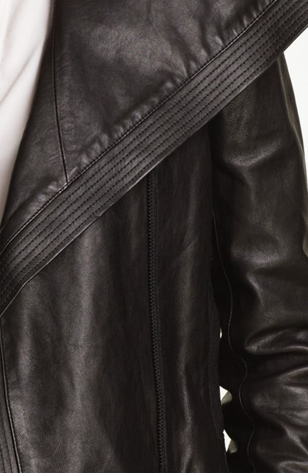 Alternate Image 3  - Vince Asymmetrical Leather Jacket