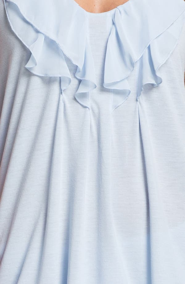 Alternate Image 3  - Oscar de la Renta Sleepwear 'Animal Blossom' Pajamas