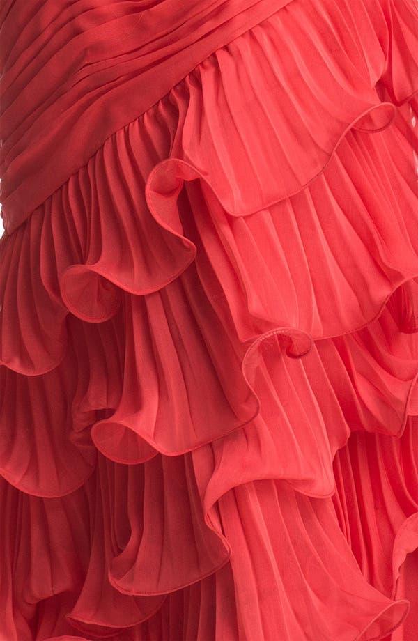Alternate Image 3  - Dalia MacPhee One Shoulder Ruffle Gown