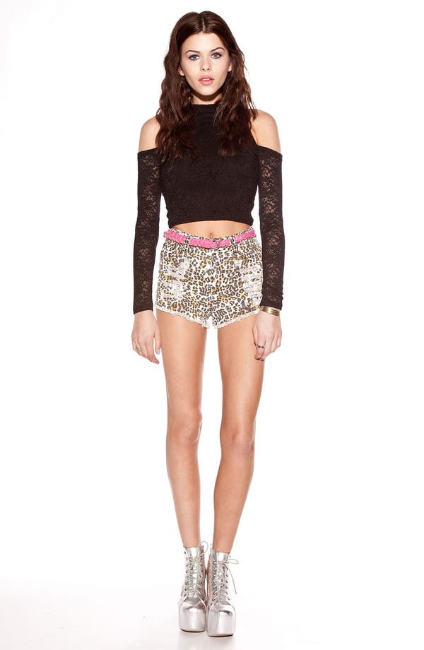 Alternate Image 2  - MINKPINK 'Imogen' Stretch Lace Crop Top