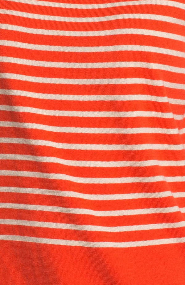Alternate Image 3  - Two by Vince Camuto Bateau Neck Stripe Sweater