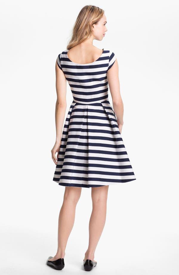 Alternate Image 2  - kate spade new york 'mariella' cotton blend fit & flare dress
