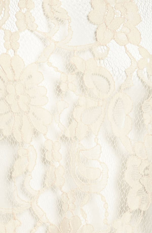 Alternate Image 4  - BB Dakota Lace Front High/Low Top