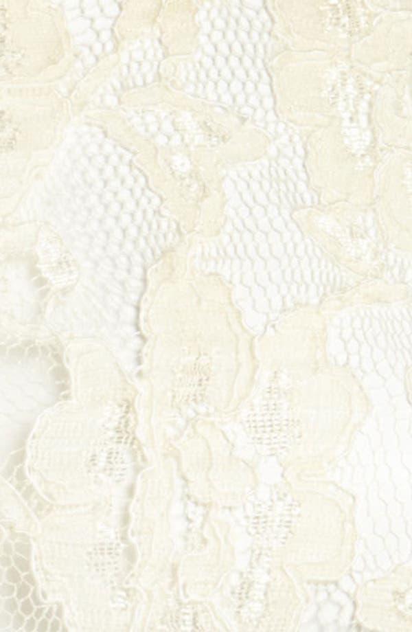 Alternate Image 4  - I.Madeline Lace Peplum Shirt