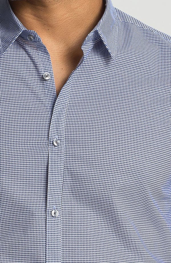 Alternate Image 3  - BOSS Black 'Remus' Slim Fit Sport Shirt