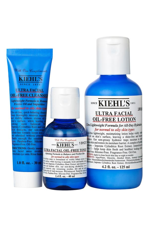 Alternate Image 1 Selected - Kiehl's Since 1851 Ultra Facial Oil-Free Starter Set ($33 Value)
