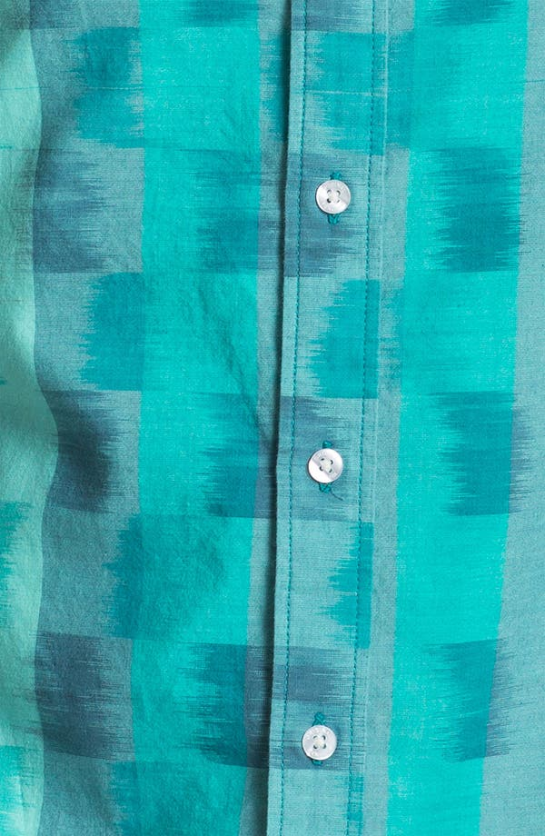 Alternate Image 2  - Original Penguin Ombré Check Woven Shirt
