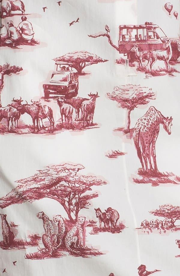 Alternate Image 3  - Carven Safari Print Poplin Dress