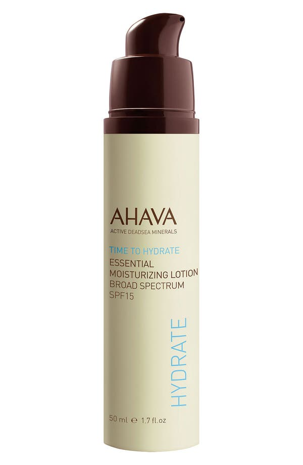 Main Image - AHAVA 'Time to Hydrate' Essential Moisturizing Lotion Broad Spectrum SPF 15