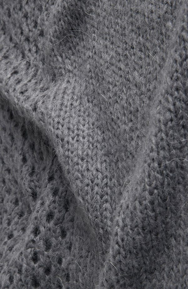 Alternate Image 3  - Topshop 'Rock Girl' Slouchy Mesh Knit Sweater