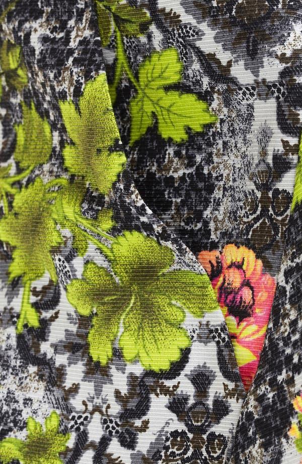 Alternate Image 4  - Topshop 'Acid Leaf' A-Line Skirt