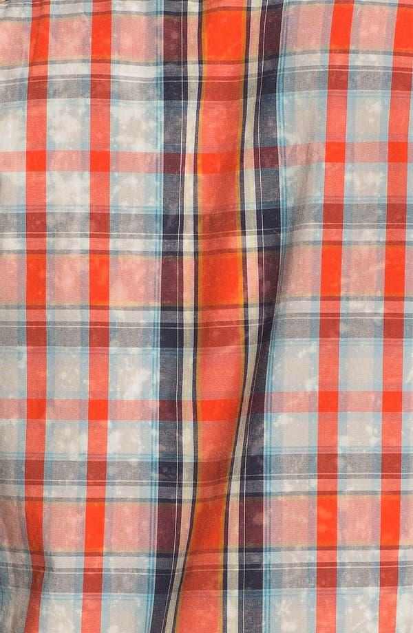 Alternate Image 2  - 55DSL 'Sweel' Check Print Woven Shirt