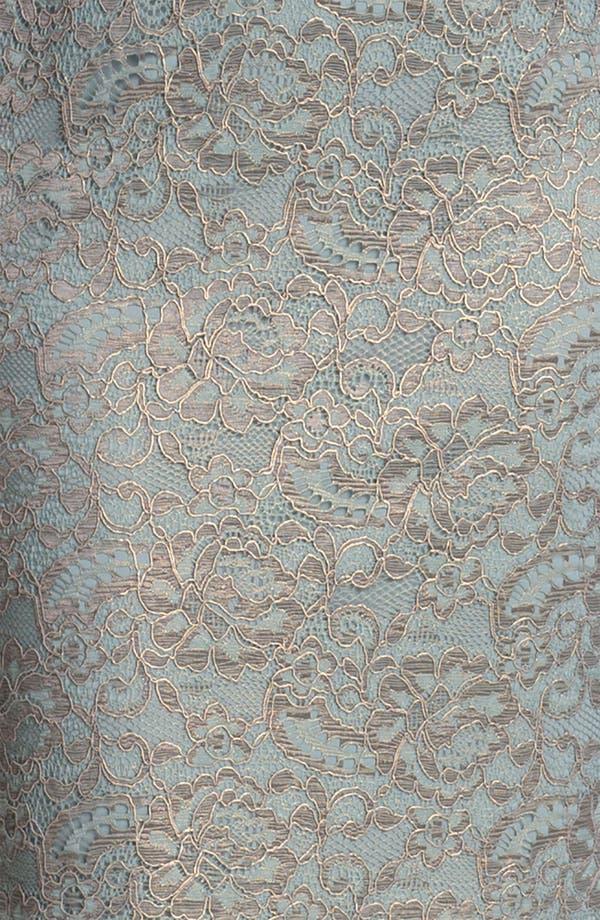 Alternate Image 3  - Adrianna Papell Metallic Lace Sheath Dress