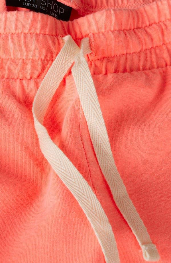 Alternate Image 4  - Topshop Neon Running Shorts