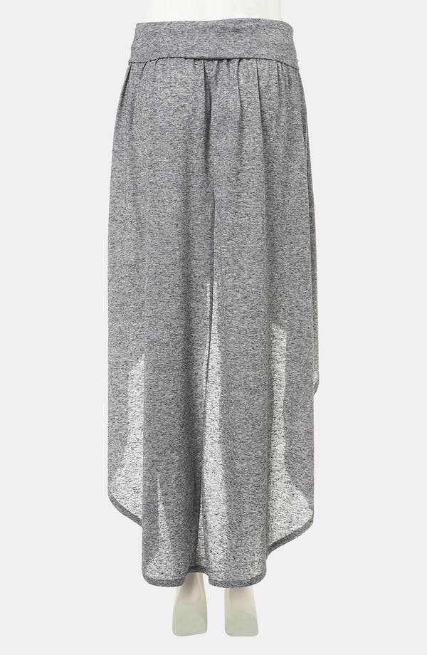 Alternate Image 2  - Topshop Foldover High/Low Maxi Skirt